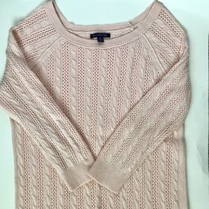 Pale Pink American Eagle Sweater